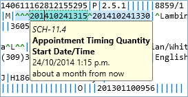 Date format tooltip from ISO8601 to local date format